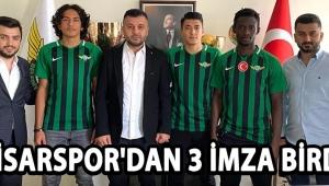 Akhisarspor'dan 3 İmza Birden !