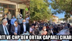 İYİ PARTİ VE CHP'DEN ORTAK ÇAPAKLI ÇIKARMASI