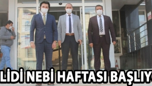 MEVLİDİ NEBİ HAFTASI BAŞLIYOR !