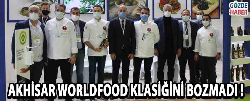 Akhisar Worldfood Klasiğini Bozmadı !