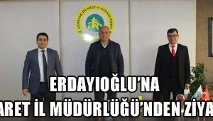 ERDAYIOĞLU'NA TİCARET İL MÜDÜRLÜĞÜ'NDEN ZİYARET!