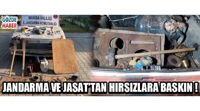 JANDARMA VE JASAT'TAN HIRSIZLARA BASKIN !