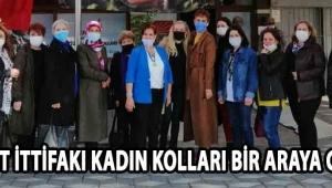 MİLLET İTTİFAKI KADIN KOLLARI BİR ARAYA GELDİ !