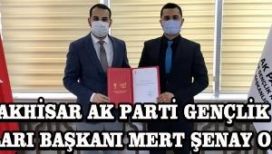 Akhisar Ak Parti Gençlik Kolları Başkanı Mert Şenay Oldu !