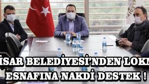 Akhisar Belediyesi'nden lokmacı esnafına nakdi destek !