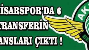 Akhisarspor'da 6 Transferin Lisansları Çıktı !