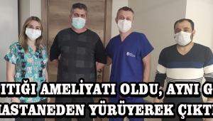 Bel Fıtığı Ameliyatı Oldu, Aynı Günde Hastaneden Yürüyerek Çıktı !