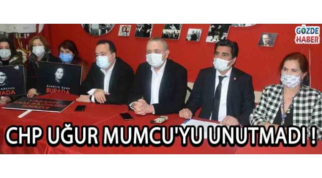 CHP Uğur Mumcu'yu Unutmadı !