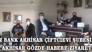 Deniz Bank Akhisar Çiftcievi şubesi'nden Akhisar Gözde Habere ziyaret