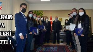Kaymakam Kaya Ödülleri Dağıttı !