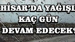 Akhisar'da Yağışlar Kaç Gün Devam Edecek?