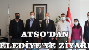 ATSO'DAN BELEDİYE'YE ZİYARET