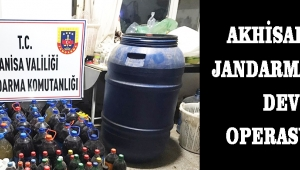 Akhisar'da Jandarma'dan Dev Operasyon!