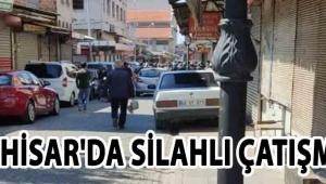 Akhisar'da Silahlı Çatışma!