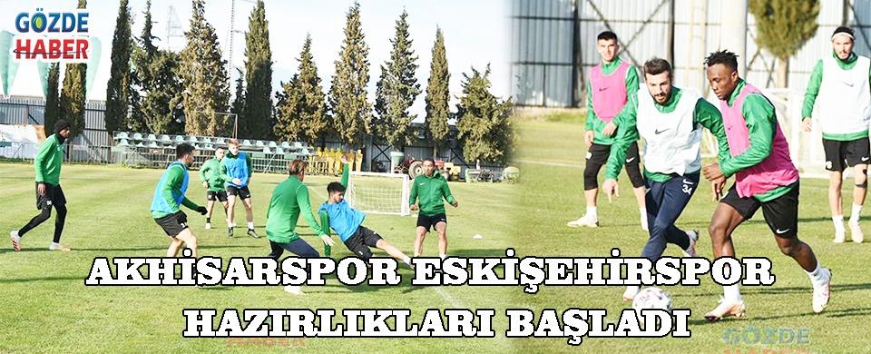 Akhisarspor'da Hazırlıklar Başladı !