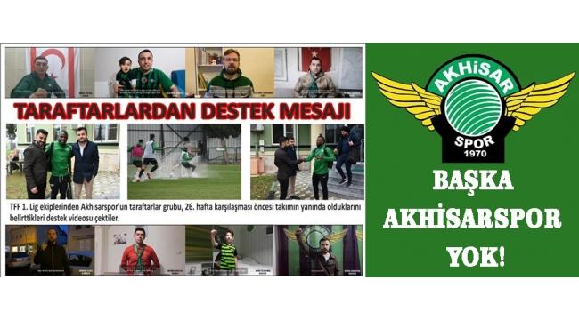 Başka Akhisarspor Yok!