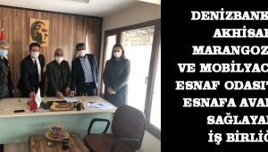 DenizBank ve Akhisar Marangozlar ve Mobilyacılar Esnaf Odası'ndan esnafa avantaj sağlayan iş birliği