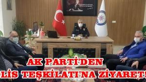 Ak Parti'den Polis Teşkilatı'na Ziyaret!