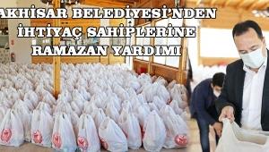 Akhisar Belediyesi'nden ihtiyaç sahiplerine Ramazan yardımı!