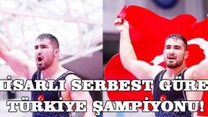 Akhisarlı Serbest Güreşçi Türkiye Şampiyonu!