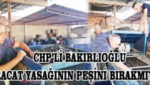 CHP'li Bakırlıoğlu İhracat Yasağının Peşini Bırakmıyor!