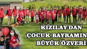 Kızılay'dan Çocuk Bayramında Büyük Özveri!