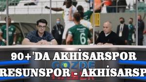 90+'da Akhisarspor (Giresunspor - Akhisarspor)