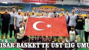 Akhisar Basket'te Üst Lig Umudu
