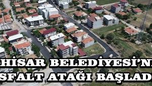 Akhisar Belediyesi'nde Asfalt Atağı Başladı !