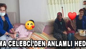 Akhisar CHP Kadın Kollar'ından Anlamlı Hediye !
