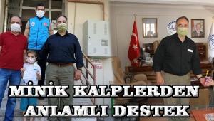 MİNİK KALPLERDEN ANLAMLI DESTEK!