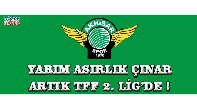 Yarım Asırlık Çınar TFF 1.Lig'e Veda Etti !