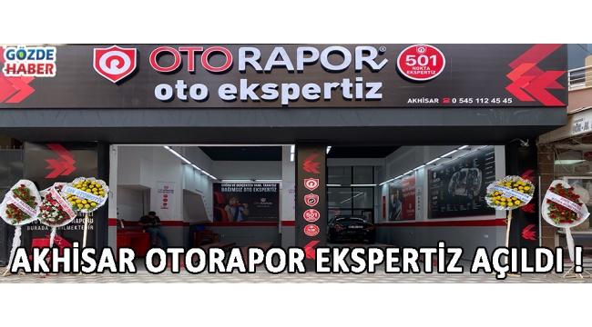 Akhisar Otorapor Ekspertiz Açıldı