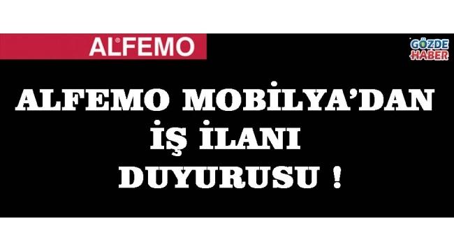 Alfemo Mobilya'dan İş İlanı Duyurusu !