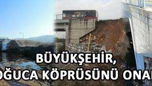 Büyükşehir, Doğuca Köprüsünü Onardı!