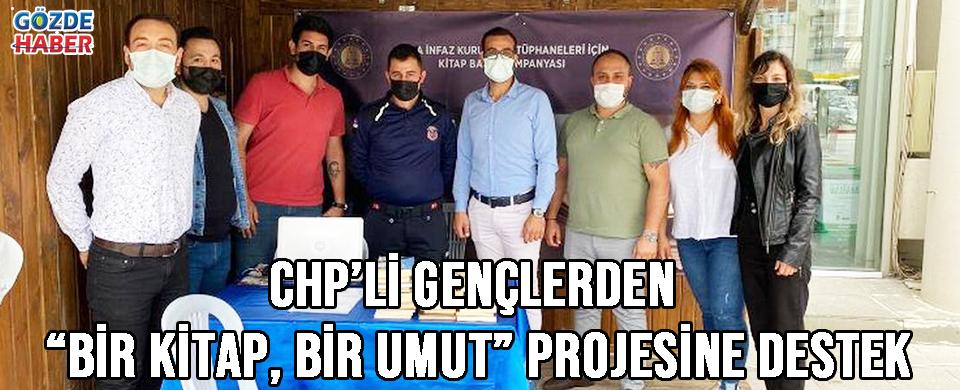"""CHP'li gençlerden """"Bir Kitap, Bir Umut"""" projesine destek"""