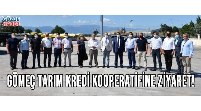 GÖMEÇ TARIM KREDİ KOOPERATİFİNE ZİYARET!