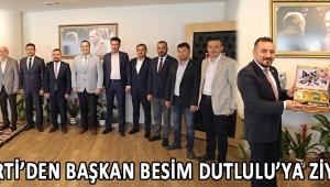 İYİ Parti'den Başkan Besim Dutlulu'ya Ziyaret