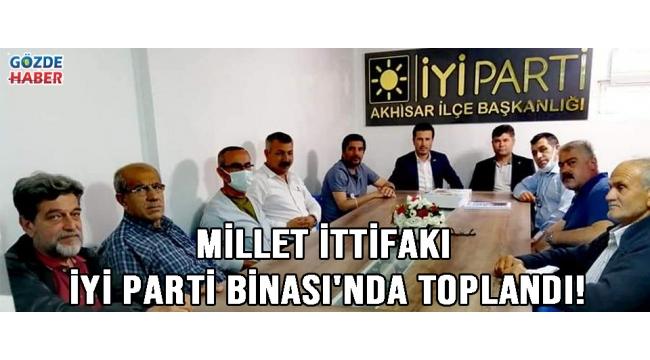 Millet İttifakı İYİ Parti Binası'nda Toplandı!