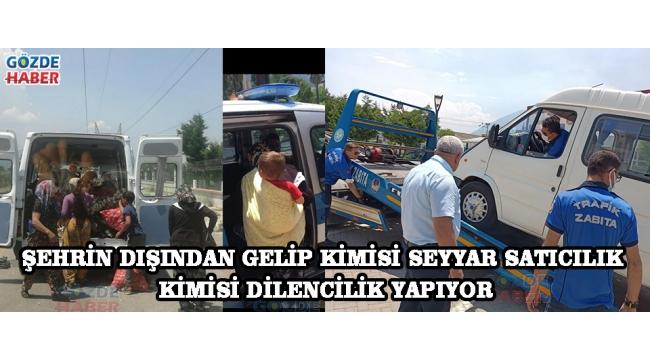 Şehrin Dışından Gelip Kimisi Seyyar Satıcılık Kimisi Dilencilik Yapıyor.!