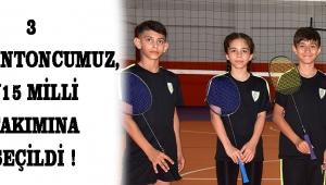 3 Badmintoncumuz, U15 Milli Takımına Seçildi !