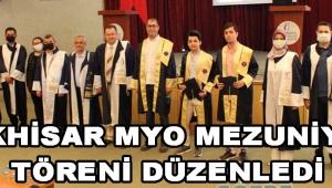 Akhisar MYO Mezuniyet Töreni Düzenledi !
