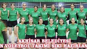 Akhisar Belediyesi Kadın Voleybol Takımı Sıkı Hazırlanıyor !