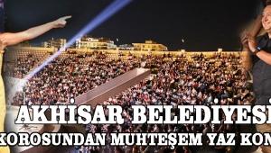 Akhisar Belediyesi TSM korosundan muhteşem yaz konseri!