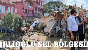BAKIRLIOĞLU SEL BÖLGESİNDE!