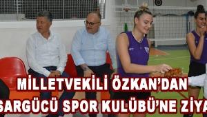 Milletvekili Özkan'dan Akhisargücü Spor Kulübü'ne Ziyaret !
