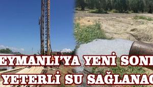 Süleymanlı'ya Yeni Sondaj ile Yeterli Su Sağlanacak