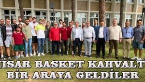 AKHİSAR BASKET KAHVALTIDA BİR ARAYA GELDİLER