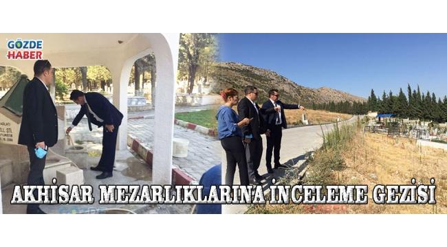 Akhisar Mezarlıklarına İnceleme Gezisi