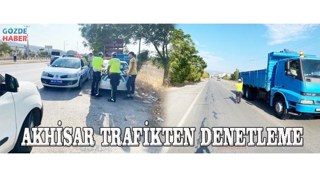 Akhisar Trafikten Denetleme
